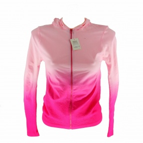 Campera deportiva dama degrade