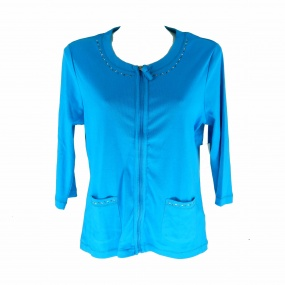 Campera dama strass TO
